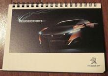 PEUGEOT 2013 カレンダー