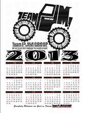 Team PJM Group共通 2013年度カレンダー最終版