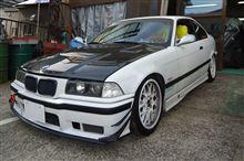 BMW E36 318i用 ワンオフ ロールケージ製作