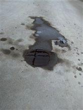 トラブルオイル漏れ