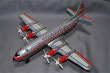 野村トーイ、電動走行 アメリカン航空 ロッキードL-188エレクトラ、