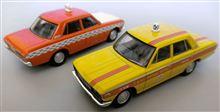 トミカリミテッドヴィンテージの50系クラウン後期型タクシー2台です♪