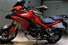 「多様な道」を走破する・ドゥカティ ムルティストラーダ1200のバイクコーティング【ラディアス湘南】