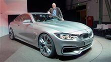 BMW 4er Coupe Concept ドアノブデザイン