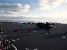 三菱アウトランダー試乗会大阪泉大津フェニックスに行ってきました。