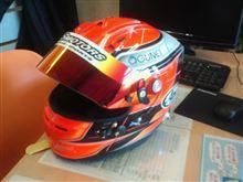 NEWヘルメット♪