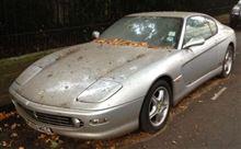 放置車輌(Ferrari 456M/GT)