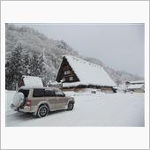 雪の飛騨路
