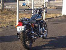 いつものバイク屋さんまで往復16キロ