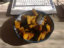 冬至です、かぼちゃを煮ましょう