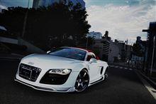 Audi R8 V10用Special Exhaust System&オートサロンに向けて(^^♪