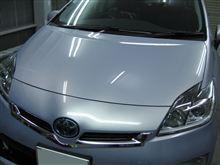 プリウス ボディガラスコーティング アークバリア21施工 愛知県豊田市 倉地塗装 KRC