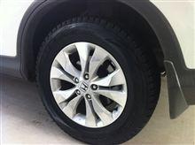 冬タイヤに換装