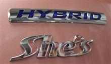 【雑】Honda Fit HYBRID She's