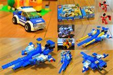 LEGOプレゼント パトカー&白バイ。そして、改ノーチラス号。