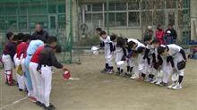 練習、年内最終日は合同練習&練習試合