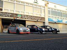 岡山国際で耐久レースに出たらしい