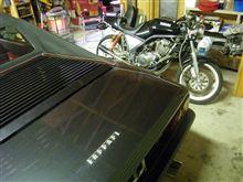 目の前にあるバイクの 「過去」 を雑誌で知る? ワークス SRX400の真実!