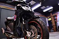 イタリアン・スポーツ・スクーター アプリリア・SPORTCITY CUBE 250 i.e.のガラスコーティング【リボルト東京WEST】