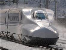 ホワイトクリスマスに新幹線♪