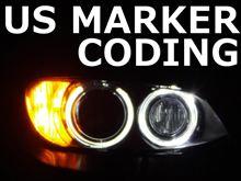 BMW USマーカー コーディング