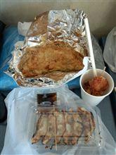 豚玉お好み焼き+鶏唐揚げ+浜松餃子