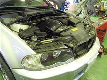 メンテナンスは大事...BMW E46 M3 ドクターカーボン&エンジンオイル交換
