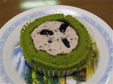 プレミアム黒豆と宇治抹茶のロールケーキ