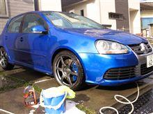ラスト洗車(^^)
