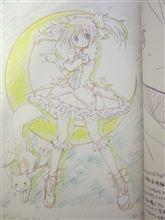 【コミケ】劇場版『まどか☆マギカ』ラグカキノートに載っている「月に代わってお仕置きよ」ポーズのまどっちが可愛い件