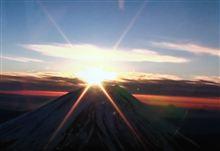 ダイヤモンド富士と名酒「土佐鶴」~2013年元旦、光に満ちた朝が来た~