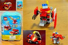 ロボット(モビルスーツ?)組み換えLEGOミニクリエイター