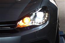 DEPO製DRLブラックヘッドライトが近日入荷っ!