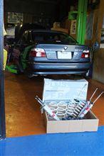 BMW E39 SACHS パフォーマンスプラス 取り付け!