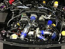 86/BRZ ターボキット がオートサロンで発表になる様です。