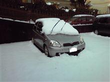 車の雪おろし