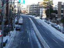 朝の中原街道...