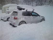 菅平の大雪