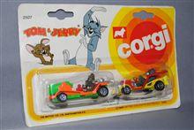 トムとジェリー、英コーギー社製 ミニカーセット、