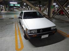 【動画】義足でMT車を運転してみた!トヨタ(AE86)レビン編
