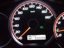 5万キロ~。