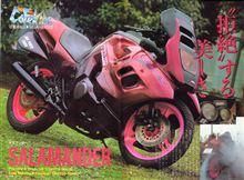 20代のころにデザインしてFRPで作ったコンセプトバイク