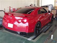 R35 GT-R ユニフォミティ測定