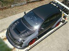 2013東京オートサロンではブリヂストンさんブースでプロドライブデモカーも展示。