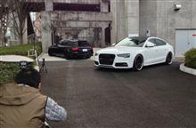 Audi A5,S4をeS4誌に取材して頂きました!