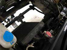 【PP1】【軽量化】エアコン コンデンサ、リキッドタンク、配管撤去