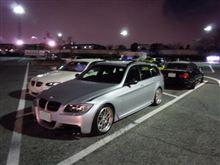 寒波の中、BMWの夜会へ(ぇ