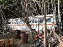 廃車探索大作戦・その④ とある山奥の廃車体群