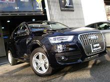 Audi Q3へカーセキュリティVIPERで防犯対策!