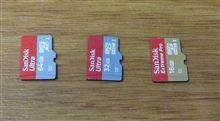 MicroSDXC 64GB ベンチマーク比較